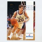 1993-94 SkyBox Premium Basketball #185 Brent Price - Washington Bullets