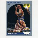 1990-91 Hoops Basketball #098 Todd Lichti RC - Denver Nuggets