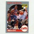 1990-91 Hoops Basketball #077 John Morton - Cleveland Cavaliers