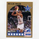 1990-91 Hoops Basketball #007 Reggie Miller AS - Indiana Pacers