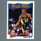 1991-92 Hoops Basketball #303 Reggie Miller IS - Indiana Pacers