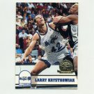 1993-94 Hoops Basketball Fifth Anniversary Gold #382 Larry Krystkowiak - Orlando Magic
