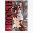 1994-95 Hoops Basketball #381 Anthony Tucker RC - Washington Bullets