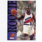 1994-95 Hoops Basketball #366 Trevor Ruffin RC - Phoenix Suns