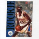 1994-95 Hoops Basketball #358 Derrick Alston RC - Philadelphia 76ers