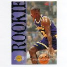 1994-95 Hoops Basketball #340 Anthony Miller RC - Los Angeles Lakers