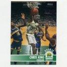 1994-95 Hoops Basketball #201 Chris King - Seattle Supersonics