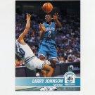1994-95 Hoops Basketball #021 Larry Johnson - Charlotte Hornets