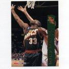 1995-96 Hoops Basketball #329 Hersey Hawkins - Seattle Supersonics