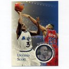 1996-97 Hoops Basketball #196 Dennis Scott PLA - Orlando Magic