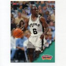 1996-97 Hoops Basketball #141 Avery Johnson - San Antonio Spurs