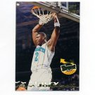 1993-94 Stadium Club Basketball #185 Larry Johnson FF - Charlotte Hornets