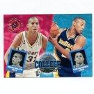 1994-95 Stadium Club Basketball #107 Pooh Richardson / Reggie Miller CT - Indiana Pacers