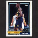 1992-93 Topps Basketball #269 Malik Sealy RC - Indiana Pacers