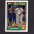 1992-93 Topps Basketball #124 Otis Thorpe AS - Houston Rockets