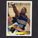 1995-96 Topps Basketball #026 Dikembe Mutombo LL - Denver Nuggets