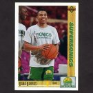1991-92 Upper Deck Basketball #102 Dana Barros - Seattle Supersonics