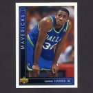 1993-94 Upper Deck Basketball #393 Lucious Harris RC - Dallas Mavericks