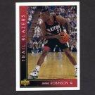 1993-94 Upper Deck Basketball #369 James Robinson RC - Portland Trail Blazers