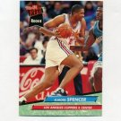 1992-93 Ultra Basketball #281 Elmore Spencer RC - Los Angeles Clippers