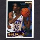 1994-95 Fleer Basketball #379 Jamie Watson RC - Utah Jazz
