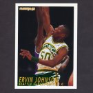 1994-95 Fleer Basketball #374 Ervin Johnson - Seattle Supersonics