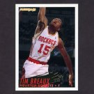 1994-95 Fleer Basketball #291 Tim Breaux - Houston Rockets