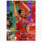 1995-96 Fleer Basketball #025 Will Perdue - Chicago Bulls