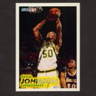 1993-94 Fleer Basketball #382 Ervin Johnson RC - Seattle Supersonics