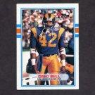 1989 Topps Football #127 Greg Bell - Los Angeles Rams