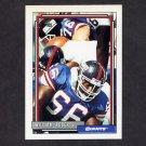 1992 Topps Football #456 William Roberts - New York Giants