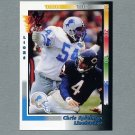 1992 Wild Card Football #107 Chris Spielman - Detroit Lions