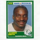 1989 Score Football #262 Sammie Smith RC - Miami Dolphins