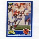 1989 Score Football #008 John Settle RC - Atlanta Falcons