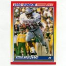 1990 Score Football #655 Steve Broussard RC - Atlanta Falcons