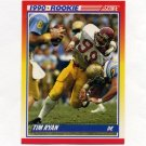1990 Score Football #652 Tim Ryan RC - Chicago Bears