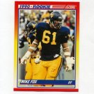 1990 Score Football #644 Mike Fox RC - New York Giants