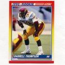 1990 Score Football #636 Darrell Thompson RC - Green Bay Packers