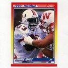1990 Score Football #623 Jimmie Jones RC - Dallas Cowboys