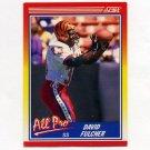 1990 Score Football #565 David Fulcher AP - Cincinnati Bengals