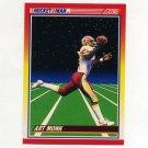 1990 Score Football #557 Art Monk RM - Washington Redskins