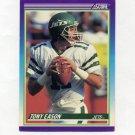 1990 Score Football #527 Tony Eason - New York Jets