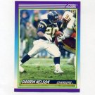 1990 Score Football #523 Darrin Nelson - San Diego Chargers