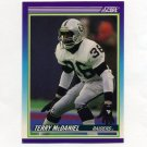 1990 Score Football #521 Terry McDaniel - Los Angeles Raiders