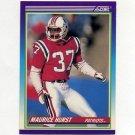 1990 Score Football #502 Maurice Hurst RC - New England Patriots