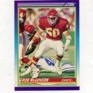 1990 Score Football #496 Rob McGovern RC - Kansas City Chiefs