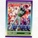 1990 Score Football #466 Mike Quick - Philadelphia Eagles