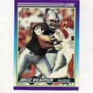 1990 Score Football #465 Bruce Wilkerson RC - Los Angeles Raiders