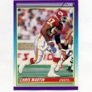 1990 Score Football #447 Chris Martin RC - Kansas City Chiefs