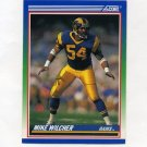 1990 Score Football #439 Mike Wilcher - Los Angeles Rams
